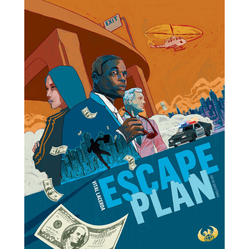 "Escape Plan, Board Game, Age_Teens, Category_Solo, Category_Strategy, Category_Thematic, Eagle-Gryphon Games, Ian O'Toole, Mechanic_Area Control, Mechanic_Area Enclosure, Mechanic_City Building, Mechanic_Drafting, Mechanic_Tile Placement, Vital Lacerda, ""board games"", ""Hobby Games"", Hobby Games"