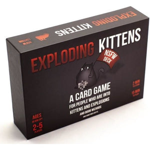 "Exploding Kittens NSFW Edition, Card Game, Age_Adult, Category_Party, Exploding Kittens, Mechanic_Hand Management, Mechanic_Player Elimination, Mechanic_Press Your Luck, Mechanic_Set Collection, Mechanic_Take That, ""board games"", ""Hobby Games"""