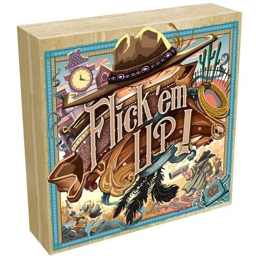 "Flick 'Em Up - Wood Version, Board Game, Age_10+, Age_7+, Age_8+, Age_9+, Age_Adult, Age_Teen, Category_Family, Category_Thematic, Mechanic_Dexterity, Mechanic_Pick-up and Deliver, Mechanic_Team Play, ""board games"", ""Hobby Games"""