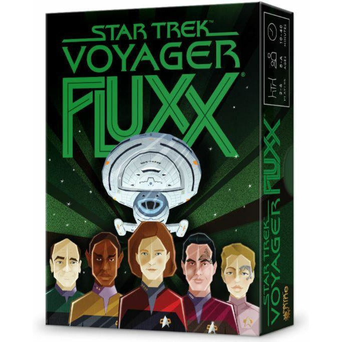 "Star Trek Voyager Fluxx, Card Game, Age_8-10 years, Andrew Looney, Category_Family, Category_Party, Fluxx, Mechanic_Hand Management, Mechanic_Set Collection, Star Trek, ""board games"", ""Hobby Games"", Hobby Games"