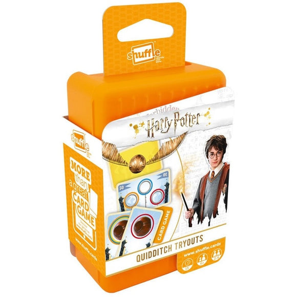 Shuffle Harry Potter Quidditch Tryouts Card Game