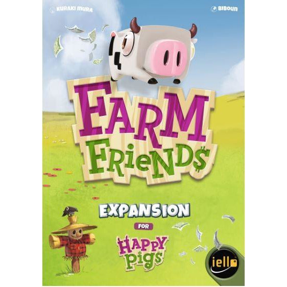 "Happy Pigs - Farm Friends, Board Game, Age_10+, Age_8+, Age_9+, Age_Adult, Age_Teen, Category_Expansion, Category_Family, Category_Strategy, Kuraki Mura, ""board games"", ""Hobby Games"""