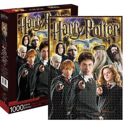 "Harry Potter Collage - 1,000 pieces, Puzzle, Brand_Aquarius, Category_Puzzle, Collection_Pop Culture, Harry Potter, Pieces_1000, ""board games"", ""Hobby Games"", Hobby Games"