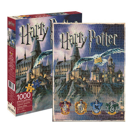 "Harry Potter Hogwarts - 1,000 pieces, Puzzle, Brand_Aquarius, Category_Puzzle, Collection_Pop Culture, Harry Potter, Pieces_1000, ""board games"", ""Hobby Games"", Hobby Games"
