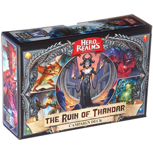 "Hero Realms the Ruin of Thandar, Card Game, Age_Adult, Age_Teen, Category_Deck Building, Category_Expansion, Category_Solo, Category_Strategy, Daniel Mandel, Darwin Kastle, en Cichoski, Hero Realms, Mechanic_Cooperative, Mechanic_Deck Building, Robert Dougherty, ""board games"", ""Hobby Games"""