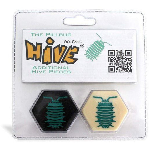 "Hive Pillbug Expansion, Board Game, Age_8-10 years, Category_Abstract, Category_Expansion, Category_Strategy, John Yianni, Mechanic_Tile Placement, ""board games"", ""Hobby Games"", Hobby Games"