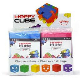 "Happy Cube - Original foam puzzle, Board Game, Age_5-7 years, Category_Solo, Mechanic_Dexterity, Mechanic_Logic Puzzle, ""board games"", ""Hobby Games"", Hobby Games"