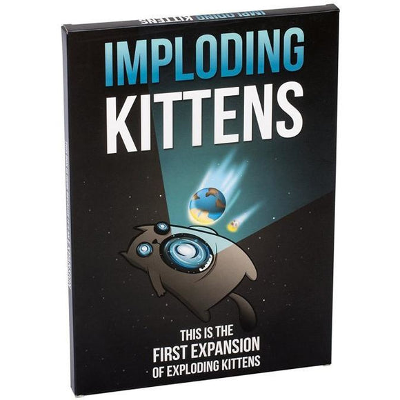 "Imploding Kittens, Card Game, Age_5-7 years, Category_Expansion, Category_Party, Exploding Kittens, Mechanic_Hand Management, Mechanic_Player Elimination, Mechanic_Press Your Luck, Mechanic_Set Collection, Mechanic_Take That, ""board games"", ""Hobby Games"""
