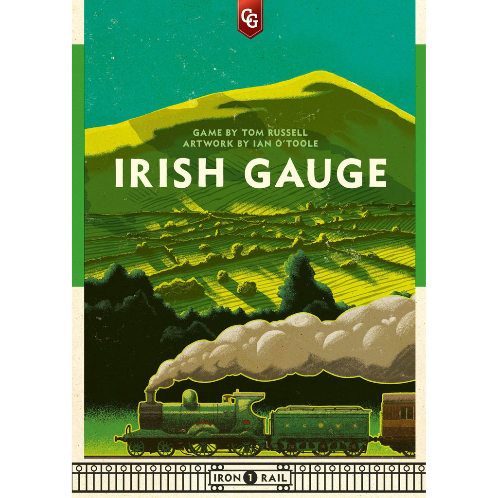 "Irish Gauge, Board Game, Age_Teens, Capstone Games, Category_Strategy, Ian O'Toole, Mechanic_Auction, Mechanic_Bidding, Mechanic_Economic, Mechanic_Route Building, Tom Russell, ""board games"", ""Hobby Games"", Hobby Games"