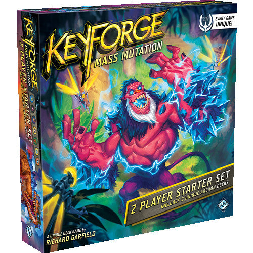 "KeyForge: Mass Mutation - 2 Player Starter Set, Card Game, Age_Teens, Category_Thematic, Fantasy Flight, Keyforge, Mechanic_Hand Management, Mechanic_Take That, Richard Garfield, ""board games"", ""Hobby Games"", Hobby Games"