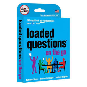 "Loaded Questions On The Go, Party Game, Age_8-10 years, Category_Party, ""board games"", ""Hobby Games"""