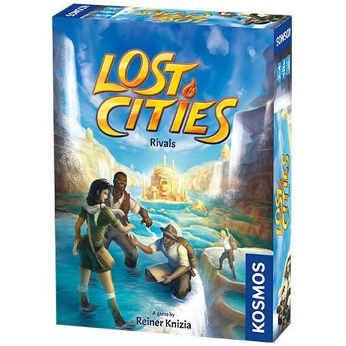 "Lost Cities Rivals, Card Game, Age_8-10 years, Card Game, Category_Family, Kosmos, Mechanic_Auction, Mechanic_Hand Management, Mechanic_Set Collection, Reiner Knizia, Sébastien Caiveau, ""board games"", ""Hobby Games"", Hobby Games"