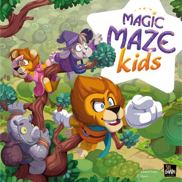 "Magic Maze Kids, Board Game, Age_10+, Age_5+, Age_6+, Age_7+, Age_8+, Age_9+, Age_Adult, Age_Teen, Category_Childrens, Kasper Lapp, Mechanic_Cooperative, Mechanic_Set Collection, Mechanic_Variable Player Powers, ""board games"", ""Hobby Games"""