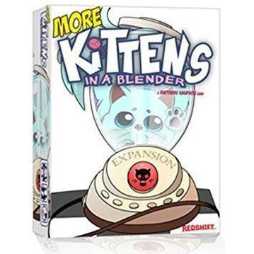 "More Kittens in a Blender, Card Game, Age_10+, Age_8+, Age_9+, Age_Adult, Age_Teen, Brent Knudson, Brian Knudson, Category_Expansion, Category_Family, Category_Party, Mechanic_Hand Management, ""board games"", ""Hobby Games"""
