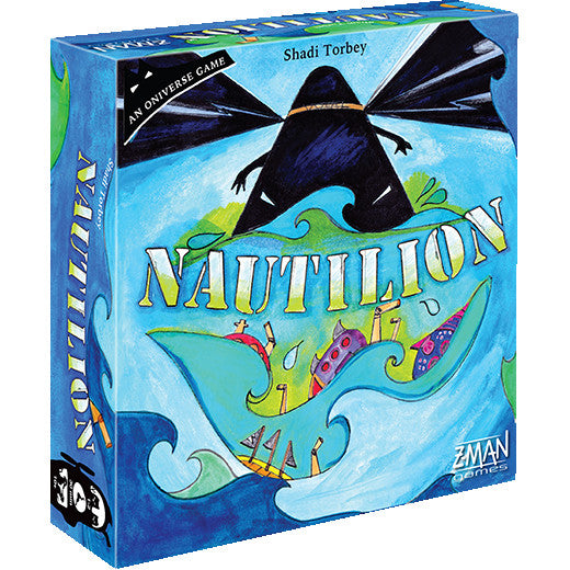 "Nautilion, Board Game, Age_8-10 years, Category_2 Player, Category_Cooperative, Category_Family, Category_Solo, Category_Strategy, Mechanic_Cooperative, Mechanic_Dice Rolling, Mechanic_Modular Board, Mechanic_Roll and Move, Mechanic_Set Collection, Shadi Torbey, Zman Games, Élise Plessis, ""board games"", ""Hobby Games"", Hobby Games"