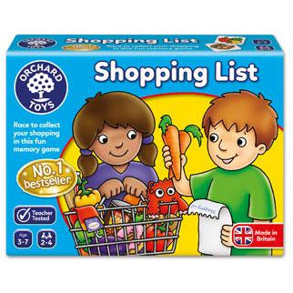 "Shopping List Game, Board Game, Age_Preschool, Category_Childrens, Category_Educational, Mechanic_Memory, Mechanic_Set Collection, Orchard Toys, ""board games"", ""Hobby Games"", Hobby Games"