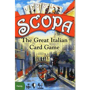 "Scopa, Card Game, Age_8-10 years, Category_Family, Mechanic_Cooperative, Mechanic_Hand Management, Mechanic_Memory, Mechanic_Set Collection, ""board games"", ""Hobby Games"", Hobby Games"