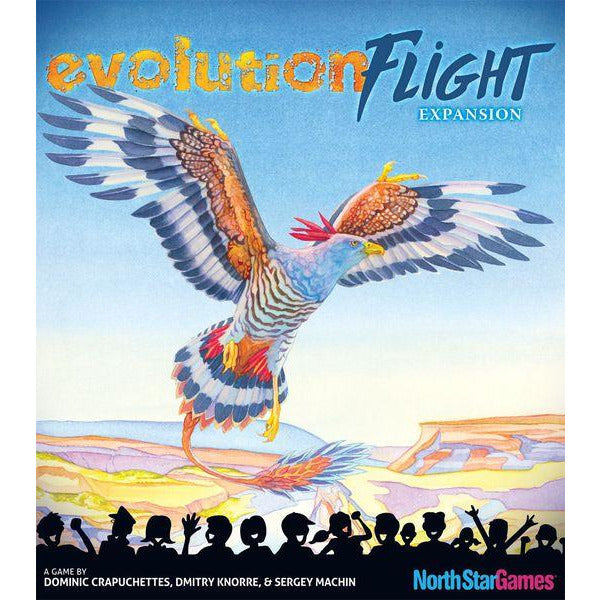 "Evolution Flight expansion, Board Game, Age_Teens, Category_Educational, Category_Strategy, Dominic Crapuchettes, Mechanic_Hand Management, North Star Games, ""board games"", ""Hobby Games"", Hobby Games"