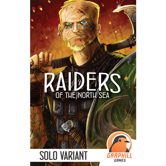 "Raiders of the North Sea: Solo Variant, Board Game, Age_Adult, Age_Teen, Category_Expansion, Category_Solo, Category_Strategy, Garphill Games, Mechanic_Hand Management, Mechanic_Set Collection, Mechanic_Worker Placement, New Zealand, Shem Phillips, ""board games"", ""Hobby Games"""