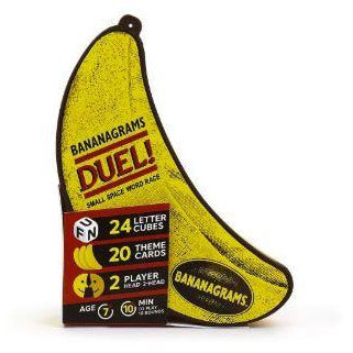 "Bananagrams Duel, Board Game, Age_8-10 years, Category_2 Player, Category_Educational, Category_Party, Category_Solo, Category_Word Game, Mechanic_Pattern Building, Mechanic_Tile Placement, ""board games"", ""Hobby Games"", Hobby Games"
