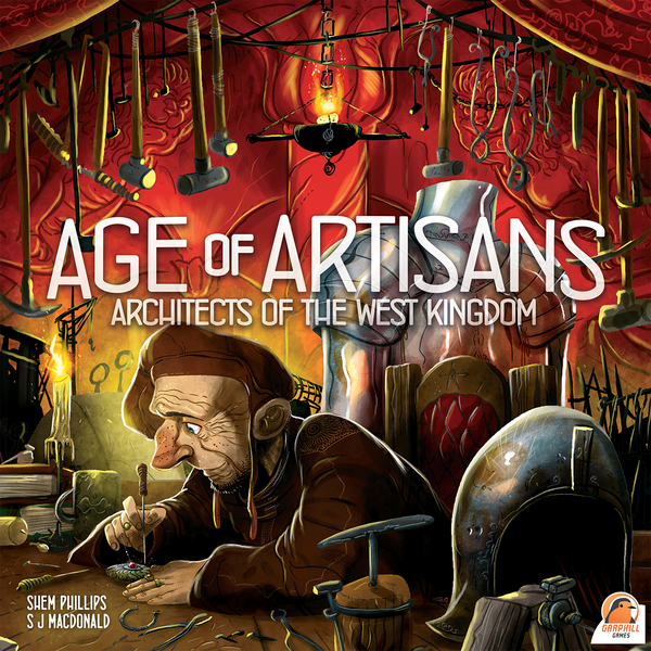 "Architects of the West Kingdom: Age of Artisans, Board Game, Age_Teens, Category_Expansion, Category_Strategy, Garphill Games, Mechanic_Drafting, Mechanic_Set Collection, Mechanic_Variable Player Powers, Mechanic_Worker Placement, New Zealand, Shem Phillips, ""board games"", ""Hobby Games"", Hobby Games"