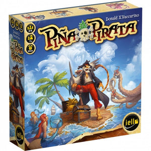 "Pina Pirata, Card Game, Age_10+, Age_Adult, Age_Teen, Card Game, Category_Family, iello, Mechanic_Hand Management, ""board games"", ""Hobby Games"""