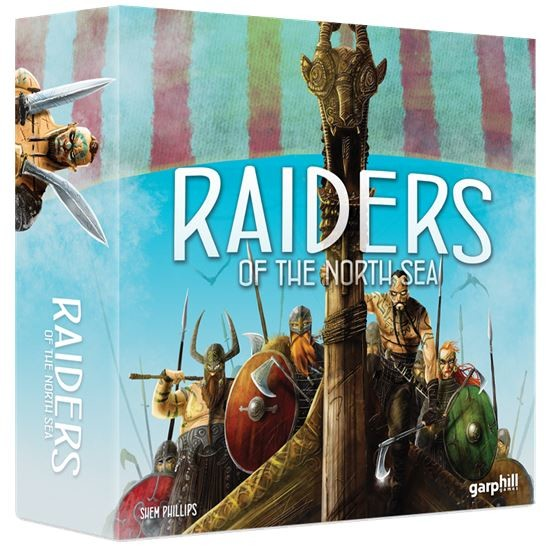 "Raiders of the North Sea, Board Game, Age_Adult, Age_Teen, Category_Strategy, Garphill Games, Mechanic_Hand Management, Mechanic_Set Collection, Mechanic_Worker Placement, New Zealand, Shem Phillips, ""board games"", ""Hobby Games"""
