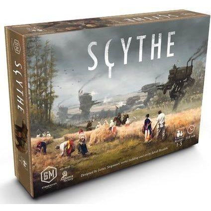 "Scythe, Board Game, Age_Teens, Category_Solo, Category_Strategy, Jamey Stegmaier, Mechanic_Area Control, Mechanic_Campaign, Mechanic_Variable Player Powers, Ryan Lopez DeVinaspre, Scythe, ""board games"", ""Hobby Games"", Hobby Games"