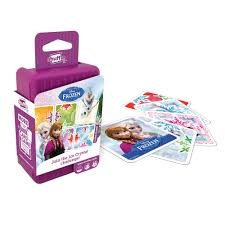 "Shuffle Disney Frozen, Card Game, Age_10+, Age_4+, Age_5+, Age_6+, Age_7+, Age_8+, Age_9+, Age_Adult, Age_Teen, Disney, Hasbro, Mechanic_Deduction, Shuffle, ""board games"", ""Hobby Games"""