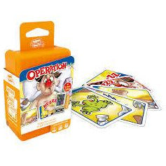 "Shuffle Operation Card Game, Card Game, Age_10+, Age_5+, Age_6+, Age_7+, Age_8+, Age_9+, Age_Adult, Age_Teen, Hasbro, Shuffle, ""board games"", ""Hobby Games"""