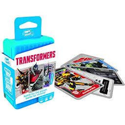 "Shuffle Transformers, Card Game, Age_10+, Age_7+, Age_8+, Age_9+, Age_Adult, Age_Teen, Hasbro, Shuffle, ""board games"", ""Hobby Games"""