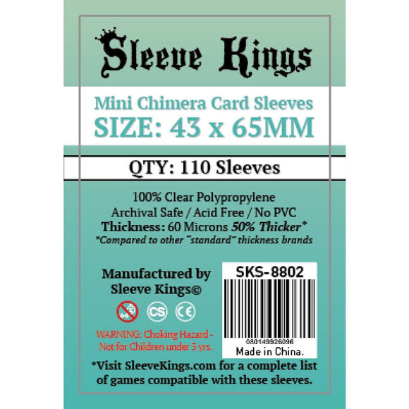 Sleeve Kings Board Game Sleeves Mini Chimera (43mm x 65mm) - SKS-8802