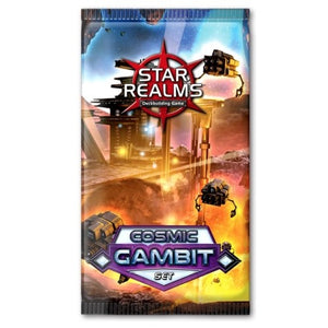 "Star Realms Cosmic Gambit Set, Card Game, Age_Adult, Age_Teen, Category_2 Player, Category_Deck Building, Category_Expansion, Category_Strategy, Darwin Kastle, Mechanic_Deck Building, Mechanic_Drafting, Mechanic_Take That, Robert Dougherty, Star Realms, ""board games"", ""Hobby Games"""