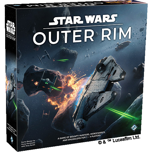 "Star Wars - Outer Rim, Board Game, Age_Teens, Category_Thematic, Corey Konieczka, Mechanic_Dice Rolling, Mechanic_Variable Player Powers, Star Wars, ""board games"", ""Hobby Games"", Hobby Games"