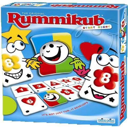 "Rummikub - Start Right, Board Game, Age_10+, Age_4+, Age_5+, Age_6+, Age_7+, Age_8+, Age_9+, Age_Adult, Age_Teen, Category_Abstract, Category_Childrens, Category_Family, Mechanic_Set Collection, Rummikub, ""board games"", ""Hobby Games"""