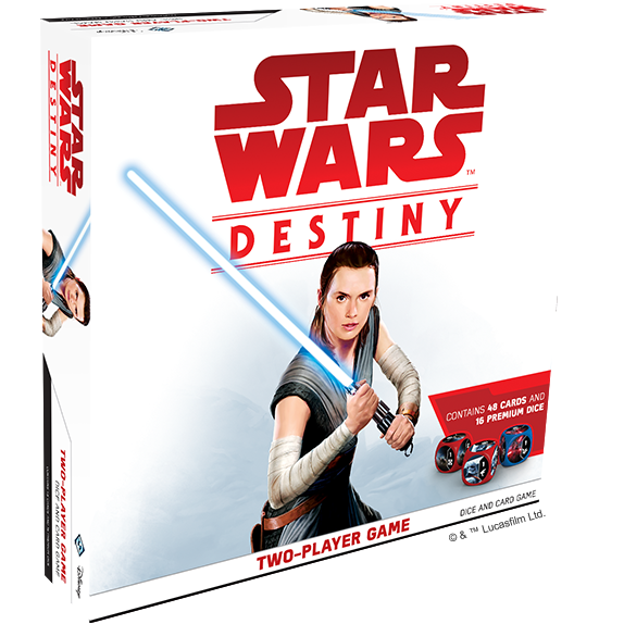 "Star Wars Destiny Two Player Game, Dice Game, Age_10+, Age_Adult, Age_Teen, Category_2 Player, Category_Strategy, Corey Konieczka, Fantasy Flight, Lukas Litzsinger, Mechanic_Dice Rolling, Mechanic_Hand Management, Mechanic_Variable Player Powers, Star Wars, ""board games"", ""Hobby Games"""