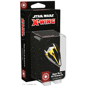 "Star Wars X-Wing: Naboo Royal Fighter N-1 Starfighter, X-Wing, Faction_Republic, ""board games"", ""Hobby Games"""
