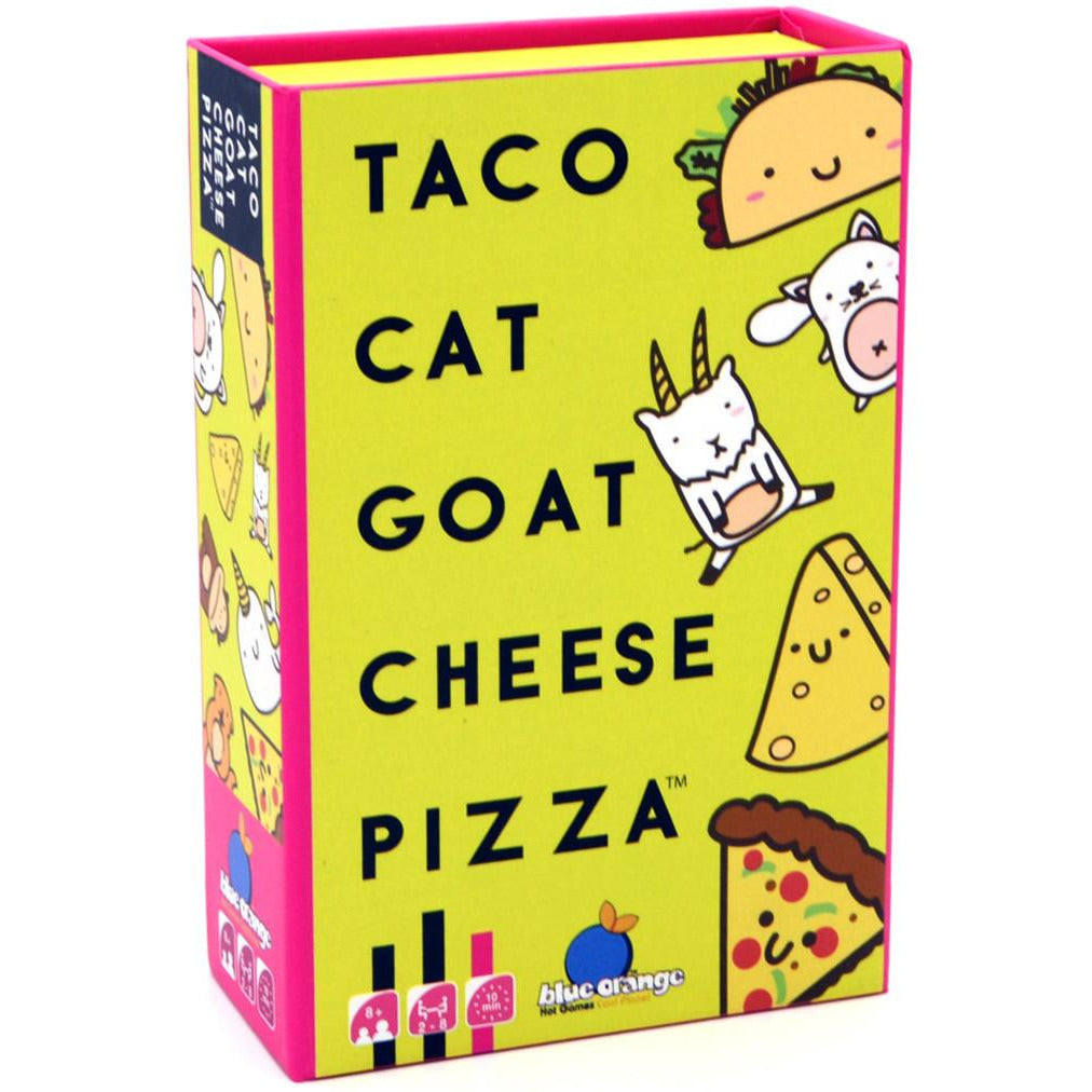 "Taco Cat Goat Cheese Pizza, Card Game, Age_8-10 years, Category_Family, Category_Party, Mechanic_Take That, ""board games"", ""Hobby Games"", Hobby Games"