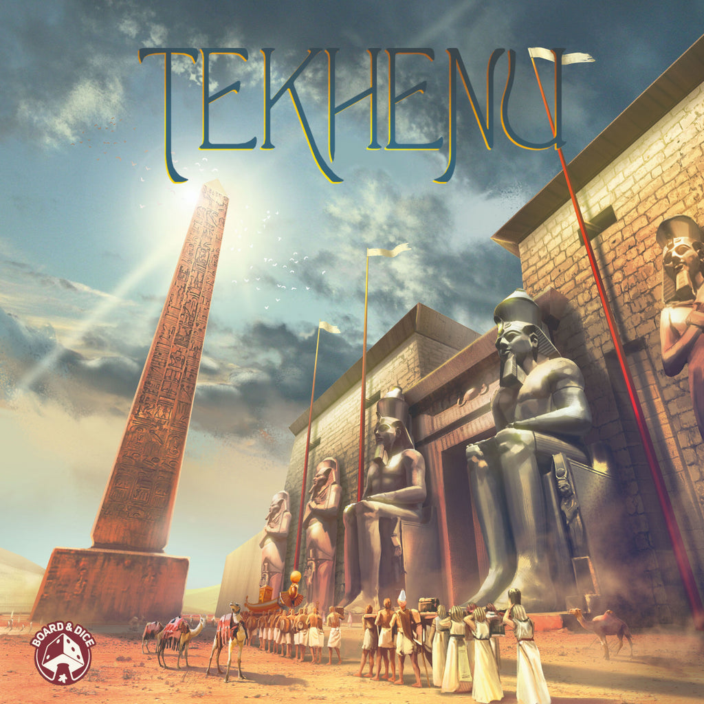 "Tekhenu: Obelisk of the Sun, Board Game, Age_Teens, Alexander Zawada, Category_Strategy, Daniele Tascini, Dávid Turczi, Jakub Fajtanowski, Mechanic_Action Points, Mechanic_Drafting, Mechanic_Pattern Building, Michał Długaj, Zbigniew Umgelter, ""board games"", ""Hobby Games"", Hobby Games"