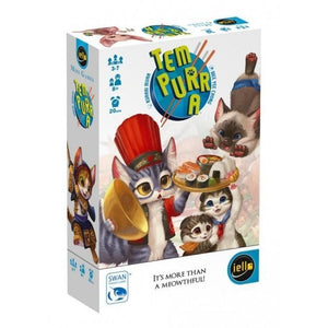 "Tem-Purr-A, Card Game, Age_10+, Age_8+, Age_9+, Age_Adult, Age_Teen, Card Game, Category_Party, iello, Kuraki Mura, Mechanic_Hand Management, Mechanic_Memory, Mechanic_Press Your Luck, ""board games"", ""Hobby Games"""