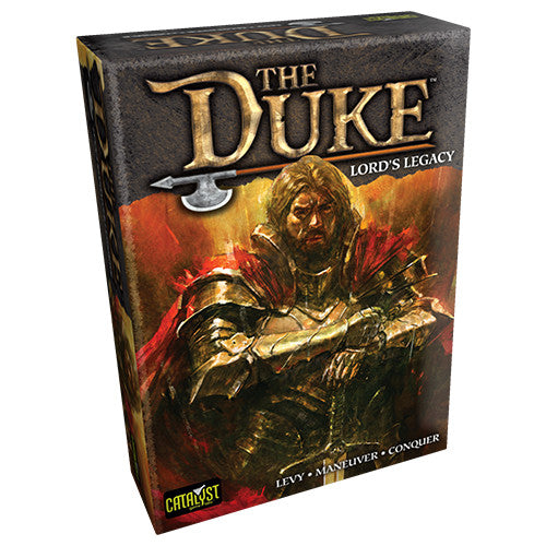 "The Duke: Lords Legacy, Board Game, Age_Adult, Age_Teen, Catalyst Game Labs, Category_2 Player, Category_Abstract, Category_Strategy, Jeremy Holcomb, Mechanic_Tile Placement, Stephen McLaughlin, ""board games"", ""Hobby Games"""