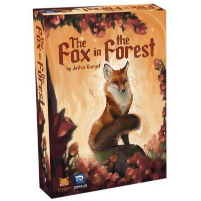 "The Fox in the Forest, Card Game, Age_8-10 years, Category_2 Player, Category_Family, Joshua Buergel, Mechanic_Hand Management, Mechanic_Trick Taking, ""board games"", ""Hobby Games"""