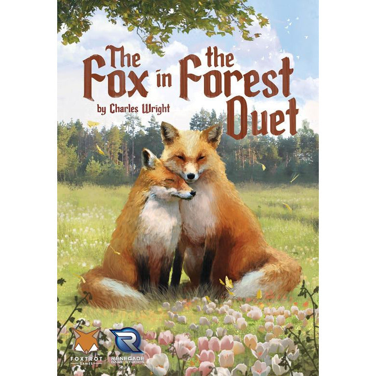 "The Fox in the Forest Duet, Card Game, Age_8-10 years, Category_2 Player, Category_Cooperative, Category_Family, Joshua Buergel, Mechanic_Hand Management, Mechanic_Trick Taking, ""board games"", ""Hobby Games"", Hobby Games"