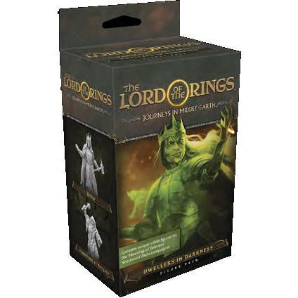 "The Lord of the Rings - Journeys in Middle Earth Dwellers in Darkness Figure Pack, Board Game, Age_Teens, Category_Expansion, Category_Minatures, Category_Role Playing, Category_Solo, Category_Strategy, Category_Thematic, Fantasy Flight, Lord of the Rings, Mechanic_Cooperative, Mechanic_Deck Building, Mechanic_Modular Board, Mechanic_Pool Building, ""board games"", ""Hobby Games"", Hobby Games"