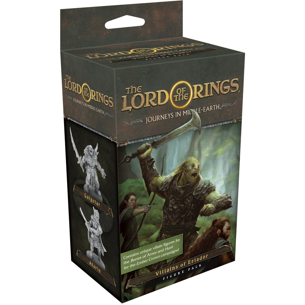 "The Lord of the Rings - Journeys in Middle Earth Villains of Eriador Figure Pack, Board Game, Age_Teens, Category_Expansion, Category_Minatures, Category_Role Playing, Category_Solo, Category_Strategy, Category_Thematic, Fantasy Flight, Lord of the Rings, Mechanic_Cooperative, Mechanic_Deck Building, Mechanic_Modular Board, Mechanic_Pool Building, ""board games"", ""Hobby Games"", Hobby Games"