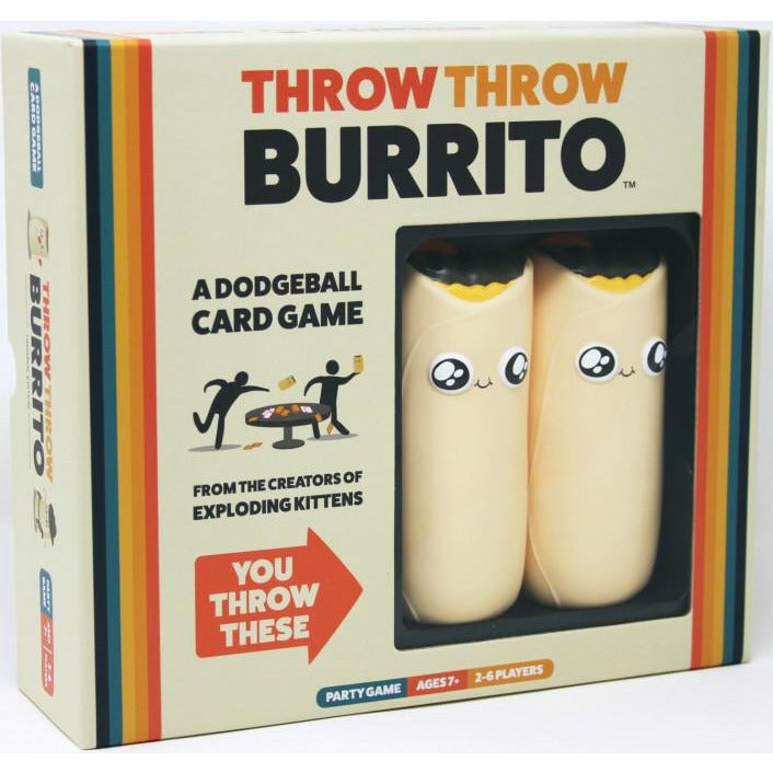 "Throw Throw Burrito, Board Game, Age_8-10 years, Category_Party, Exploding Kittens, Mechanic_Dexterity, Mechanic_Take That, ""board games"", ""Hobby Games"", Hobby Games"