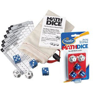 "Math Dice, Dice Game, Age_10+, Age_6+, Age_7+, Age_8+, Age_9+, Age_Adult, Age_Teen, Category_Educational, Category_Family, Mechanic_Dice Rolling, ThinkFun, ""board games"", ""Hobby Games"""
