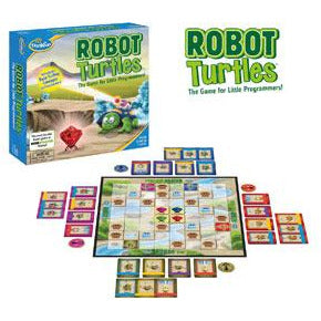 "Robot Turtles, Board Game, Age_10+, Age_4+, Age_5+, Age_6+, Age_7+, Age_8+, Age_9+, Age_Adult, Age_Teen, Category_Childrens, Category_Educational, Mechanic_Programming, ThinkFun, ""board games"", ""Hobby Games"""