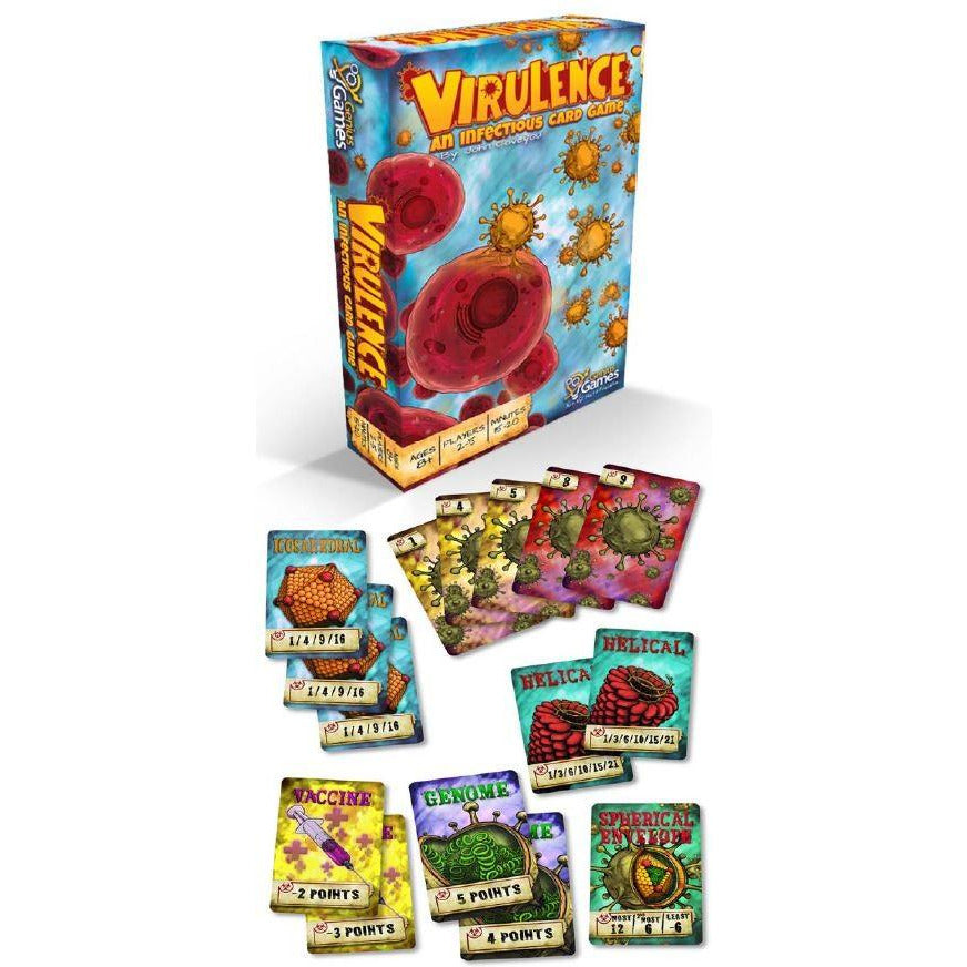 Virulence: An Infectious Card Game | Card Game - Hobby Games