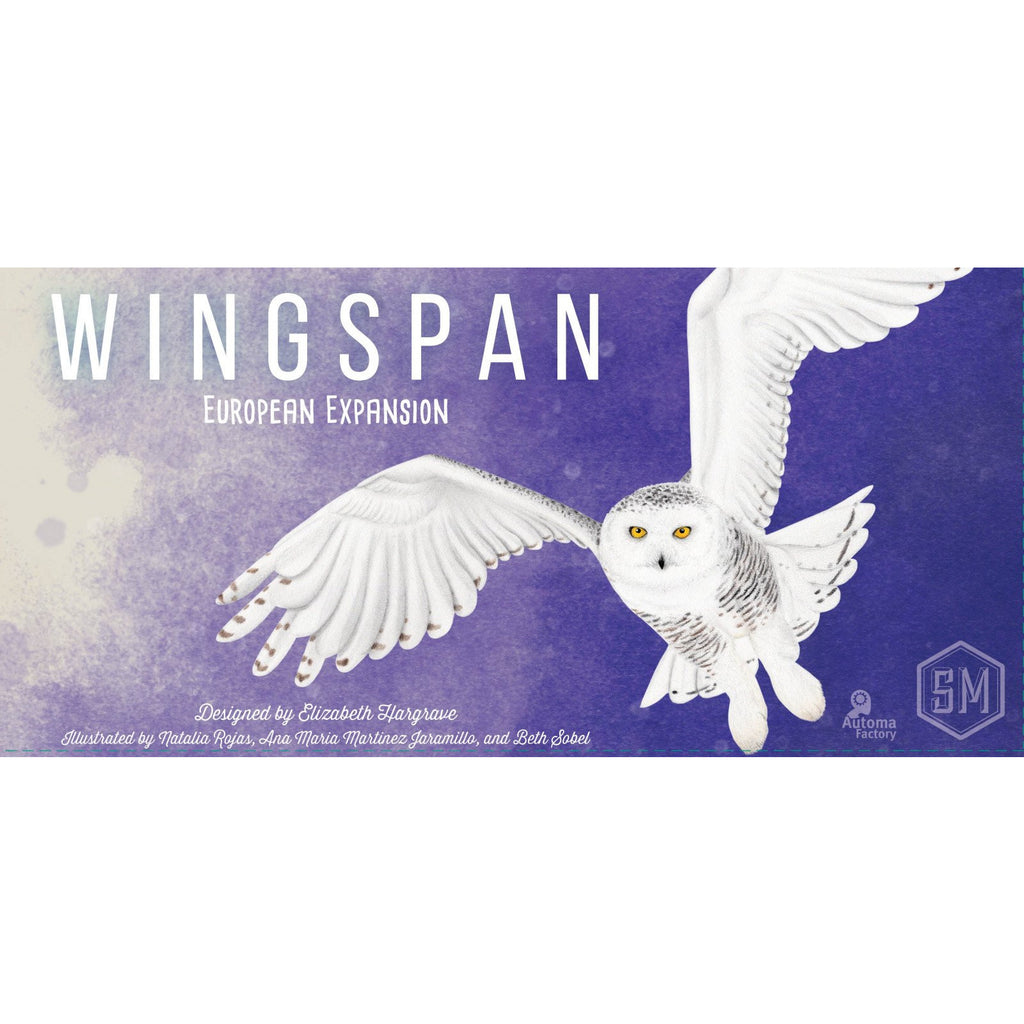 "Wingspan European Expansion, Board Game, Age_8-10 years, Category_Expansion, Category_Solo, Category_Strategy, Elizabeth Hargrave, Mechanic_Dice Rolling, Mechanic_Hand Management, Mechanic_Set Collection, Stonemaier Games, ""board games"", ""Hobby Games"", Hobby Games"